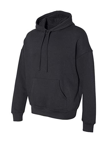 Pullover Hooded Bella (Bella Canvas Sponge Fleece Pullover DTM Hoodie Sweatshirt (3729) -Black -M)