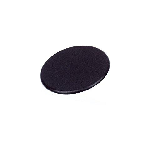 Frigidaire 316261804 Range Surface Burner Cap Genuine Original Equipment Manufacturer (OEM) Part Black (Black Burner Range Cap)