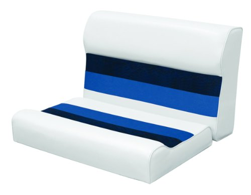 White Vinyl Pontoon Boat - 7