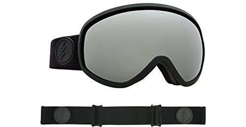 Chrome Masher (Electric Masher Goggle - 2018 Matte Black / Brose Silver Chrome + 50% Coupon)