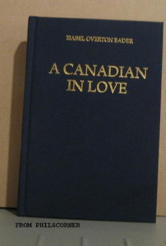 Download A Canadian in love pdf