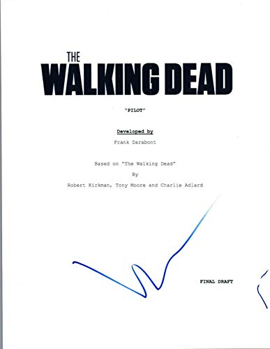Norman Reedus Signed Autographed THE WALKING DEAD Pilot Episode Script COA VD from Unknown