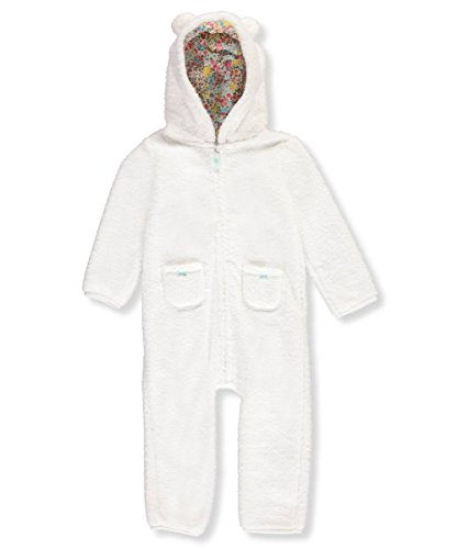 Carter's Baby Girls' Hooded Sherpa Jumpsuit