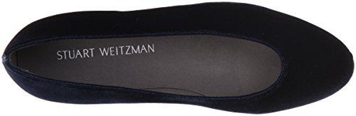 Stuart Weitzman Mujeres Chicflat Ballet Flat Navy
