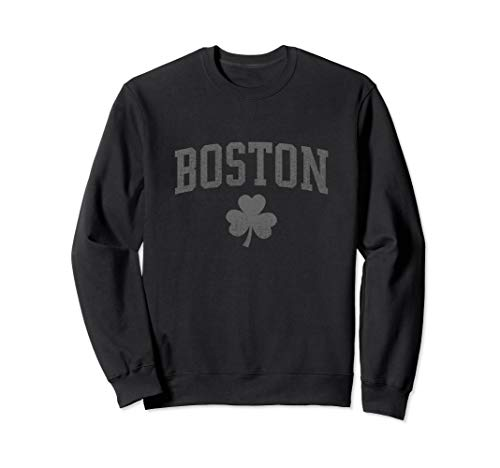 Boston, St Patrick's Shamrock Sweater - Irish Clover