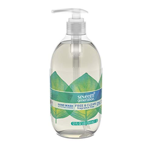 Seventh Generation Hand Wash Soap, Free & Clean Unscented, 12 Fl Oz, (Pack of 8) (Pack May Vary) by Seventh Generation (Image #9)