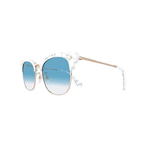 Lunettes GRADIENT de Balenciaga soleil femme BA0114K OTHER BLUE WHITE HRxqdwzS