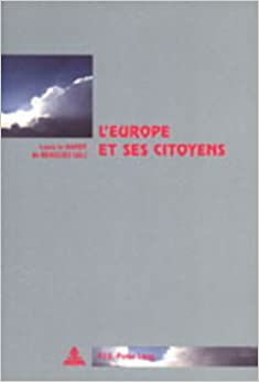 Book L' Europe Et Ses Citoyens (Collection