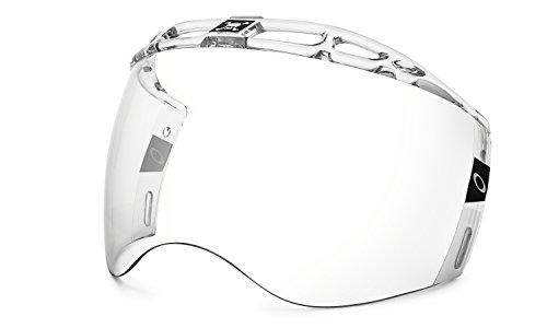 Oakley Large Certified Cut Hockey Visor, Clear, One Size ()