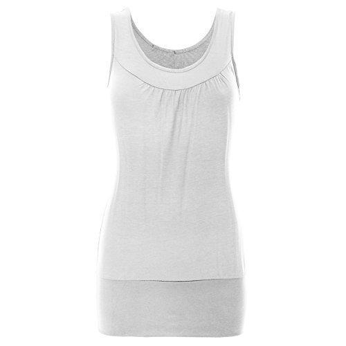 Be Jealous - Vestido - Sin mangas - para mujer blanco