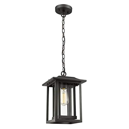 Outdoor Pendant Light Beionxii Large Exterior Hanging ()