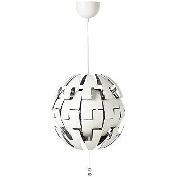 Ikea Ps 2014 Pendant Lamp, White, Silver Color