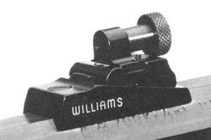 Williams WGRS-37 Aperature Rear Sight Ithaca 37, Browning BPS, Maverick 88 Aluminum Black
