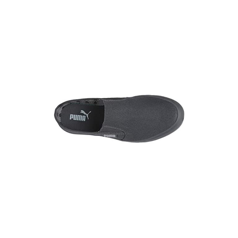 31UBWAbKkkL. SS768  - Puma Men Apollo Slip On Monotone IDP Iron Gate-Qu