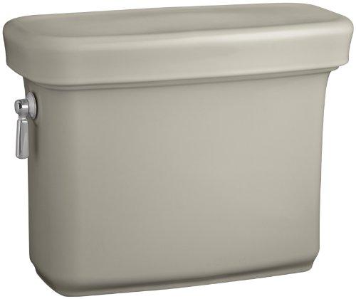 Kohler K-4383-G9 Bancroft 1.28 gpf Toilet Tank, Sandbar