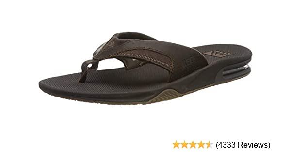 9491d21a5e4 Amazon.com  Reef Men s Fanning Speed Logo Sandal  Shoes