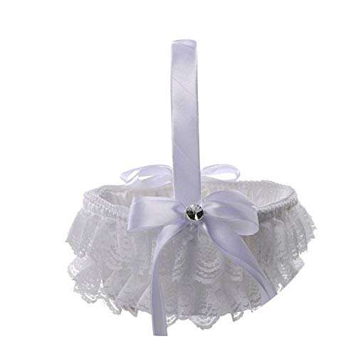 Flower Girl Basket Romantic Wedding Day Collection Flower
