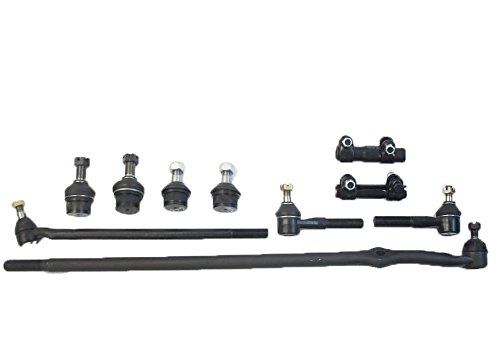 Ford F-150 80-96/Ford Bronco 80-96 - 10 PC Kit: 1 Left Outer (82 Upper Ball Joint)