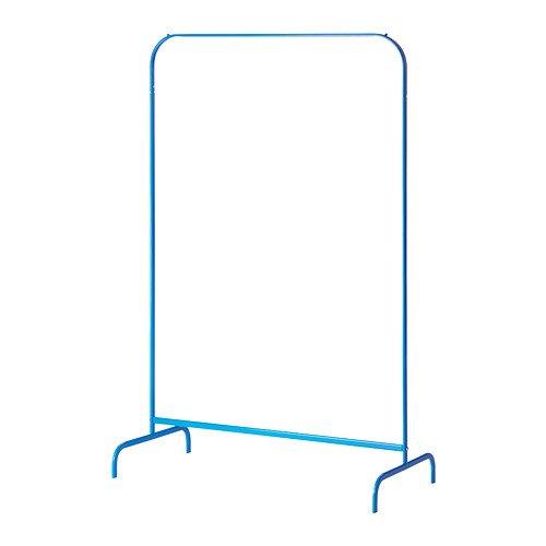 IKEA MULIG - Ropa de rack, azul - 99x46 cm: Amazon.es: Hogar