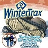 WinterTrax Women's Adult Winter Trax synthetic Ice And Snow Traction Cleats Shoe Accessories One Size / One Color