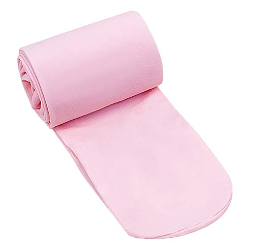 Stretch Footed Tights - CHUNG Toddler Little Girls Summer Footed Dress Tight Ballet Dance Light Stretch 3-10Y, Light Pink-LZS, 5-8Y