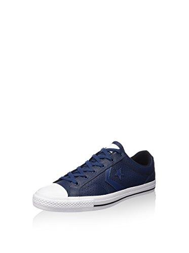 Unisex Inverso - Adulto Estrela Jogador Boi Sneaker, Azul, 39 Eu