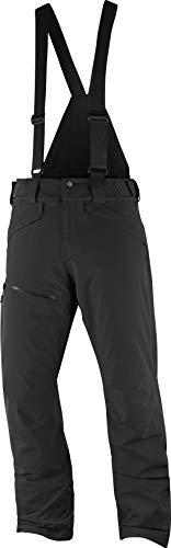 - Salomon Men's Chill Out Bib Pant , Black, Medium/Regular Inseam