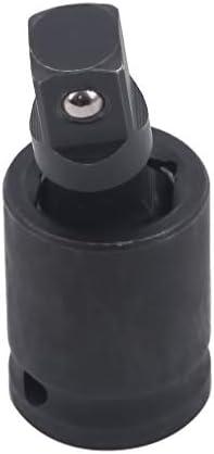 MODMHB 空気圧レンチ ユニバーサル ジョイント ユニバーサル レンチソケット アダプタ,3/8空圧ユニバーサルヘッド