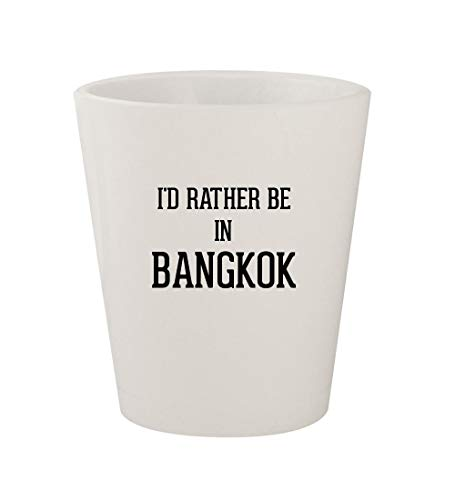 I'd Rather Be In BANGKOK - Ceramic White 1.5oz Shot Glass