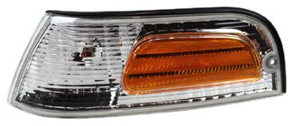TYC 18-5096-01 Ford Crown Victoria Driver Side Replacement Parking/Side Marker Lamp (Crown Side Marker Assembly)