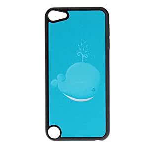 Buy Shimmering Blue Dolphin Pattern Hard Case for iPod touch 5
