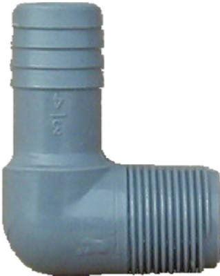 Genova Products 352820 Combination Elbow (Insert x Mip) Pipe Fitting, 2