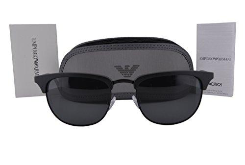 69c53cb95d Emporio Armani EA4072 Sunglasses Matte Black w Gray Lens 504287 EA 4072 -  Buy Online in KSA. emporio armani products in Saudi Arabia. See Prices