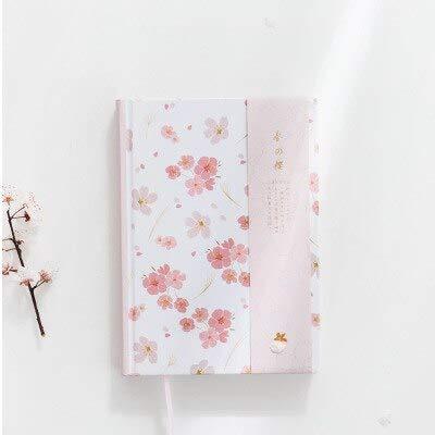 ShAwng Kawaii Linda Flor Japonesa Dotted Notebook Oficina de ...