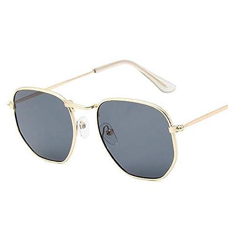 GCCI Gafas de sol de moda de verano Gafas de sol poligonales ...