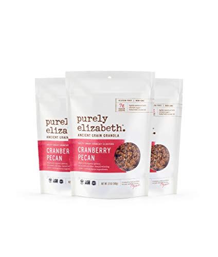 purely elizabeth Ancient Grain Granola, Cranberry Pecan, 3 - Granola Pecan Cranberry
