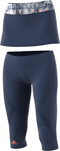Adidas Women's Tennis Melbourne Line Skirt/Legging Combo,...