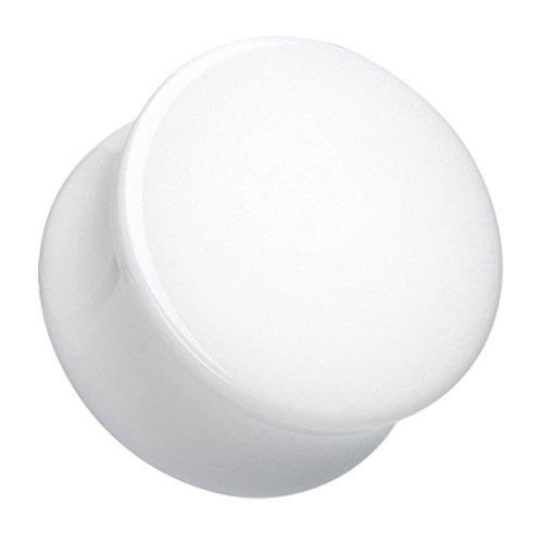 00 Gauge White Acrylic - 8
