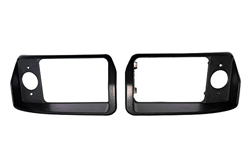 - Club Car DS 1993-UP Replacement FACTORY STYLE Passenger & Driver Headlight Bezel #1016880#1016879 Suit(Left and Right)