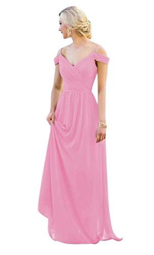 Andybridal Elegant A Line Sweetheart Ruched Chiffon Long Wedding Bridesmaid Dress Lilac 16
