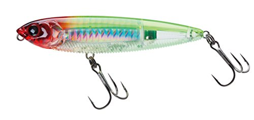 Yo-Zuri 3DB Pencil Topwater Lure, Prism Clown, 4-Inch