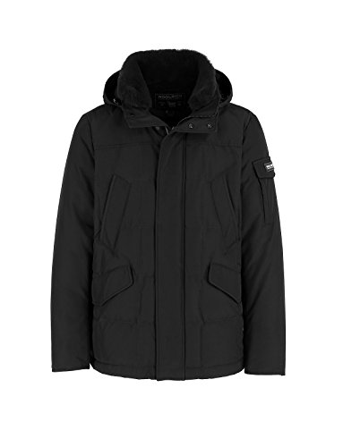 Fw Black Woolrich 2603 17 Giubbino Uomo Blk Piumino Jacket Blizzard Wocps Field 18 axXqvx