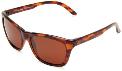 - Hobie Woody Rectangle Sunglasses,Shiny Tortoise Frame/Copper Lens,One Size