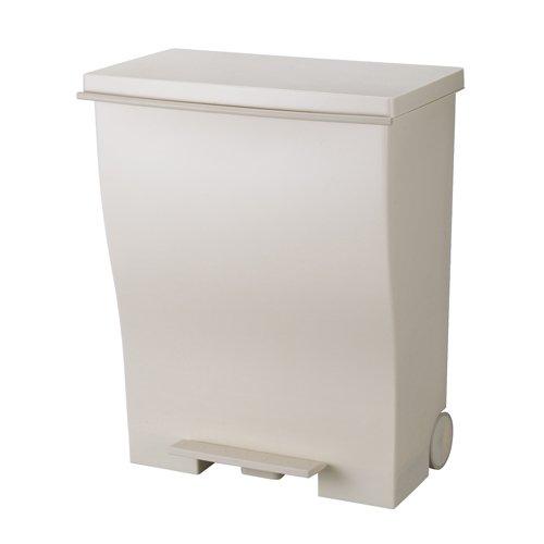 I'mD (アイムディ) ゴミ箱 キャスター付 Kcud クード ワイドペダル オールベージュ 39L KUDWD ABE B00HJJYO66 オールベージュ オールベージュ