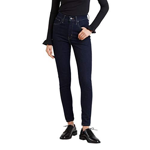 Calça Jeans Levis Feminino Mile High Super Skinny Escura