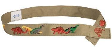 - Myself Belts - Toddler and Kids Belt for Boys - Dinosaur (7/8)
