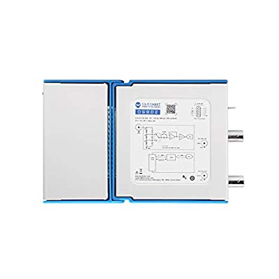 SainSmart DS802 Dual Channel Virtual PC Oscilloscope, 25MHz Analog Bandwidth, 80 MSps Sample Rate