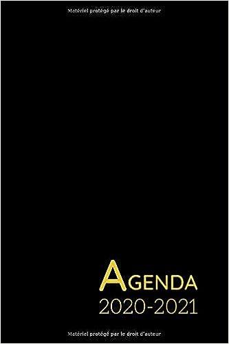Amazon Com Agenda Scolaire 2020 2021 Agenda Semainier De Poche En Francais Format A6 Une Semaine Par Double Page Agenda Hebdomadaire Noir Gold French Edition 9798664300840 Sabrina Editions Books