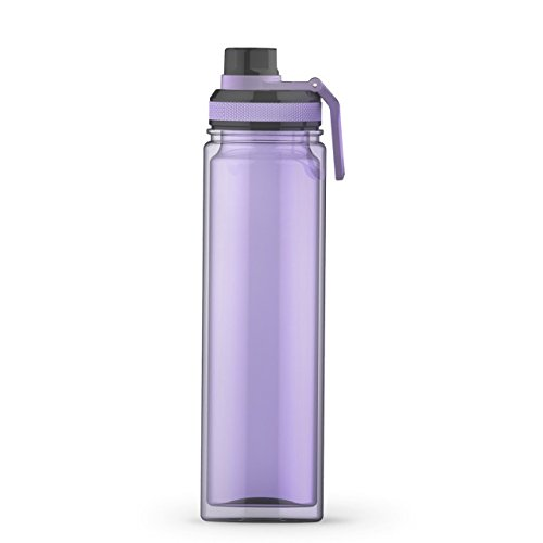 Lavender - 20 oz. Tritan Sports Water Bottle with Screw -Top Gulp Lid and Carrying Loop - Perfect Blanks for Vinyl