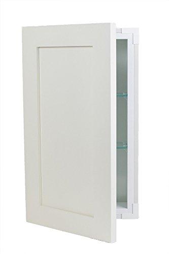 Wood Cabinets Direct Aspen Frameless Cabinet White Enamel